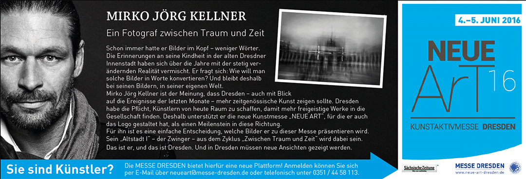 Mirko Joerg Kellner für Messe Neue Art